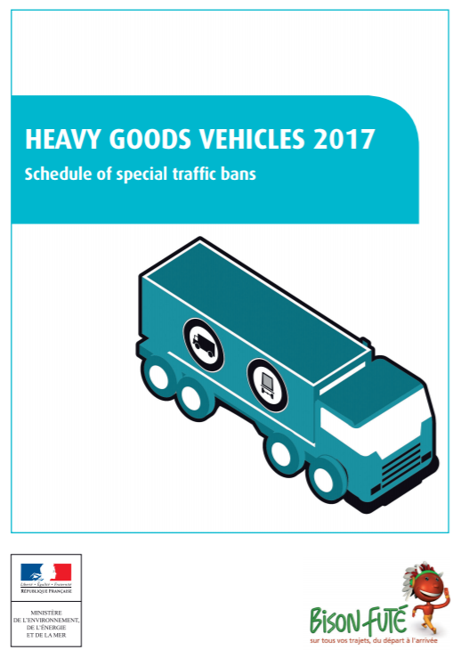 France traffic ban schedule