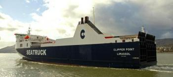 heysham warrenpoint seatruck