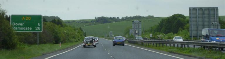 A20 Folkestone - Dover