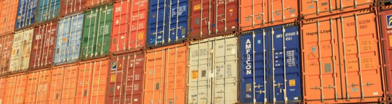 logistic shipping containers