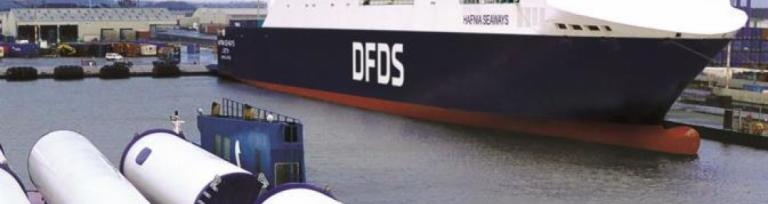 DFDS Immingham Hafnia Seaways