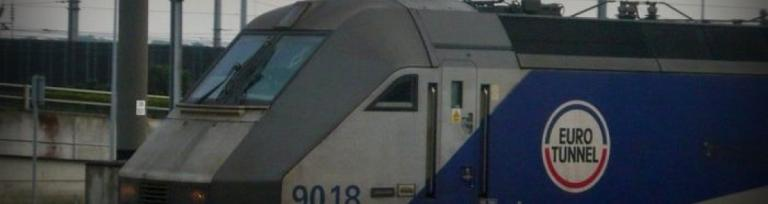 eurotunnel pociąg