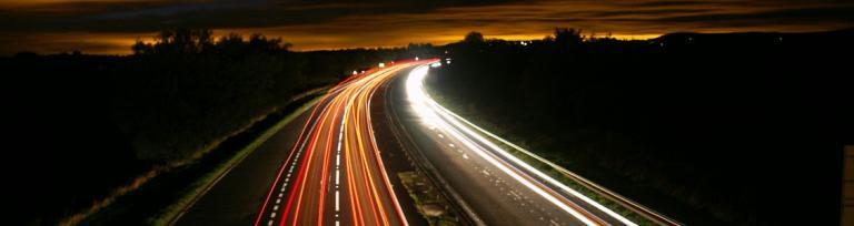 kierowanie nocą