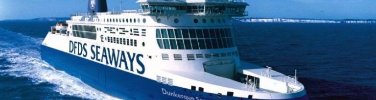 DFDS prom z dover do dunkierki