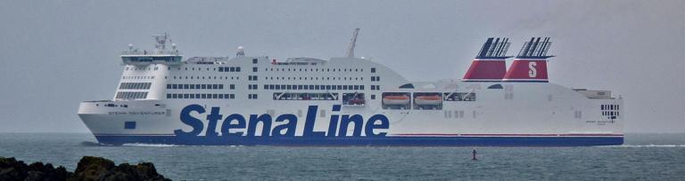 Stena Line Adventurer Holyhead Harbour