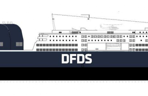 DFDS new ship