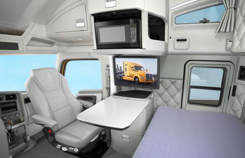 Luxury truck cab