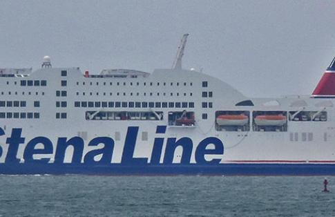 Stena Line Adventurer Holyhead Harbour